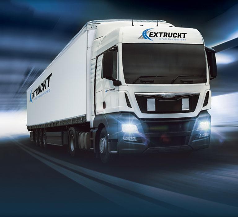 Ciężarówka Extruckt